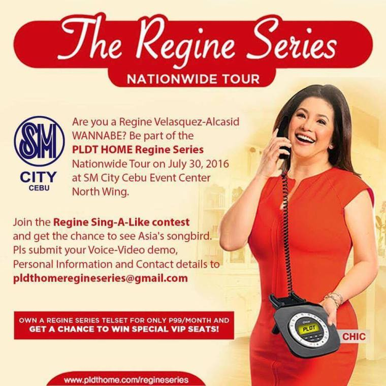 Sing Like Regine Call Out